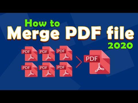 How To Merge PDF File With Adobe Acrobat XI Pro