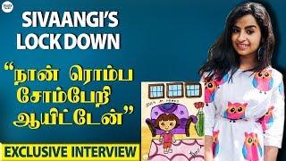 Sivaangi's Lockdown Secrets - 01-04-2020 Tamil Cinema News