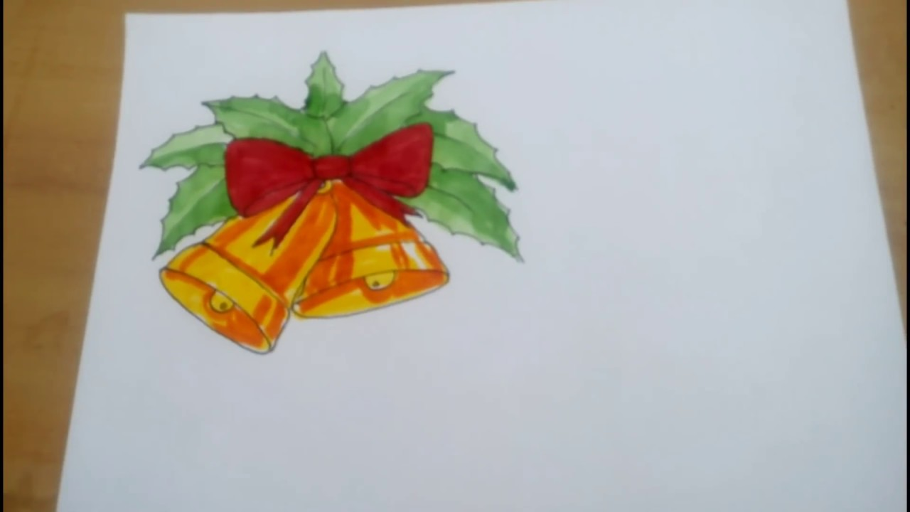 merry christmas drawing for kids easy youtube