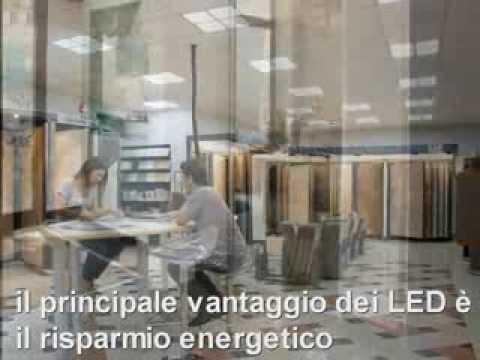 Plafoniere No Led : Sostuire con i led le plafoniere a neon cm w youtube
