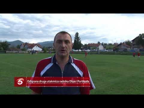 Odigrana druga utakmica radnika Olipa i Fortituda