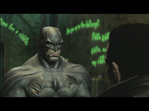 Batman: Return to Arkham - Arkham City Enigma Conundrum Side Mission 5th Hostage