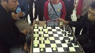 Chess Game Yogi Vs Arfan Bupati Cup Majalengka 2017
