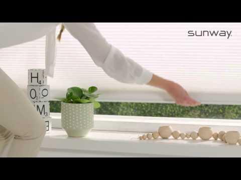 Duette® Shades | LiteRise Top-Down | SUNWAY® Raamdecoratie