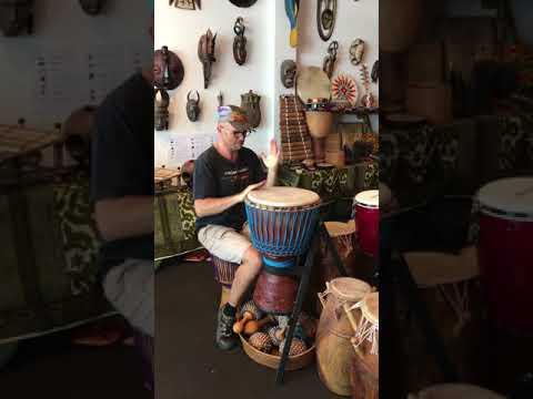 African Drumming - Burkina Faso Master series djembe - 0226