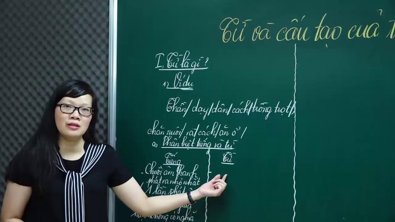 Ngữ Văn Lớp 6 –Bài giảng Từ và cấu tạo từ tiếng việt lớp 6|Tiếng Việt Từ và câu |Cô Lê Hạnh