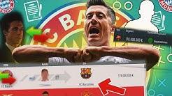 180 Millionen TRANSFER 😱 AKUTES PROBLEM BEI BAYERN? FIFA 20 Karrieremodus FC Bayern