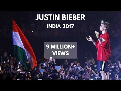 Justin Bieber Live In Mumbai -2017 [PURPOSE TOUR]