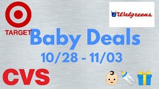Baby Deals 10/28 - 11/03 | Last Chance to Use Target Coupons!
