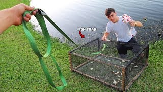 MONSTER Trap Catches FISH - Ft. Paul Cuffaro