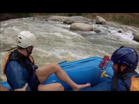 White Water Rafting - Urubamba River - Santa Maria, Peru!!