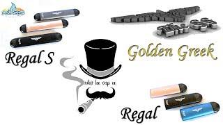 """Παρουσιάζω τα """"Αετίσια""""  Pod -  Regal και Regal S by GoldenGreek"""