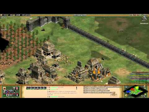 "Aoe2 HD ""The Forgotten"": Tutorial: Fast Castle Age, Arena, Economy Management"