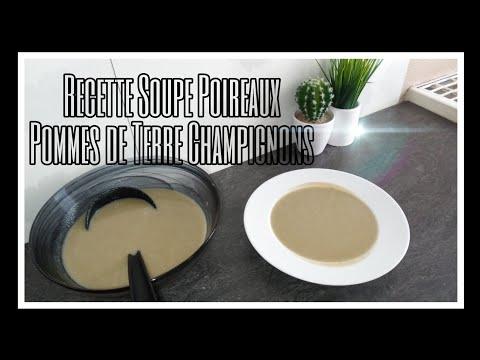 🍁recette-de-la-soupe-aux-poireaux-pommes-de-terre-et-champignons---{avec-cookeo}