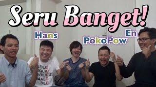 Game Jepang Lucu bersama Youtuber Indonesia!! インドネシアのユーチューバーと日本の遊びで大盛り上がり!