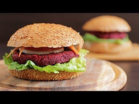 BEST Vegan Beet Burger Recipe