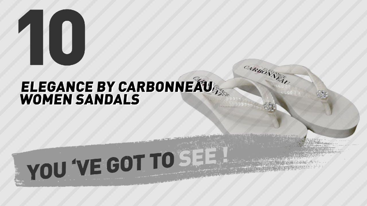 00ec7dd49 Elegance By Carbonneau Women Sandals    New   Popular 2017 - YouTube