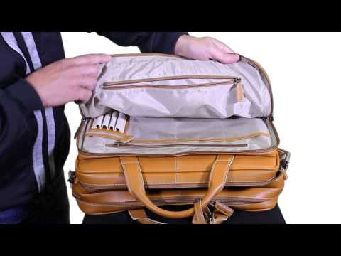 Rawlings Leather Coaching Briefcase Video