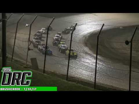 Brushcreek Motorsports Complex | 7/30/17 | Ohio Valley Roofers Legends Car Series | Feature