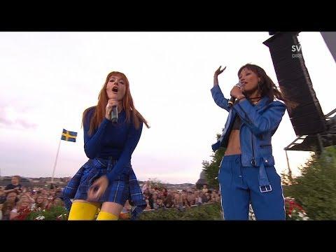 """Icona Pop - Girls Girls (Live """"Allsång På Skansen"""" 2017)"""