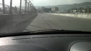 Baku World Challenge Track 2013 FIA GT Series. View from inside part 4, drivethrough, track config