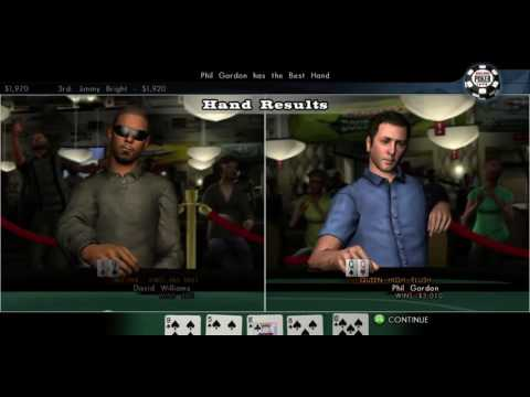 world series of poker 2008 battle for the bracelets     Xbox 360  PlayStation 3  Gameplay  HD