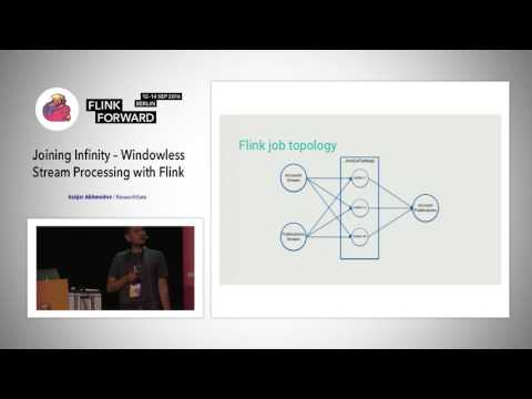 Flink Forward 2016: Sanjar Akhmedov -  Joining Infinity: Windowless Stream Processing with Flink