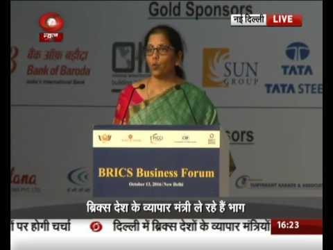 Union Commerce Minister addresses BRICS Business Forum in New Delhi