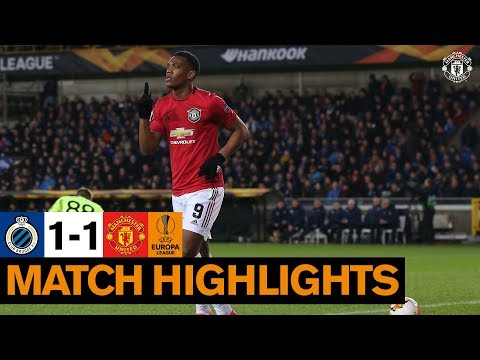 Highlights | Club Brugge 1-1 Manchester United | Europa League