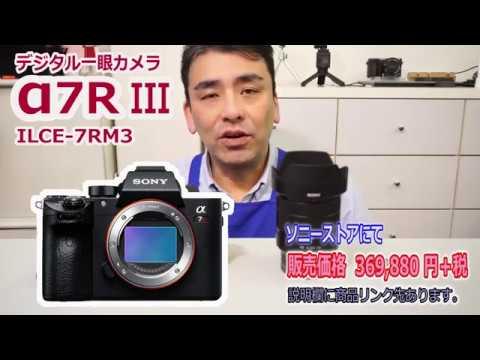 快適!! フルサイズ一眼カメラα7R III