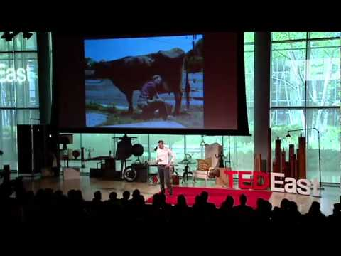 TEDxEast - Alex Petroff - Farming Peace and Ending Poverty, Eastern Congo's Hidden Gem