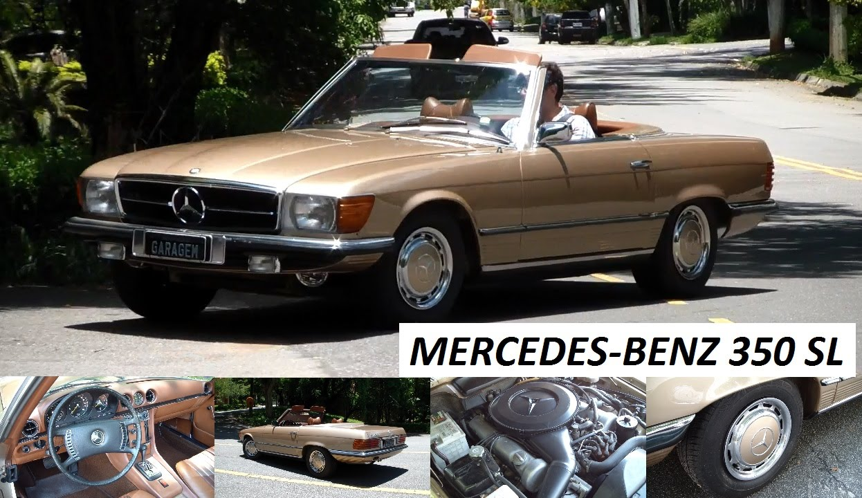 garagem do bellote tv mercedes benz 350 sl 1971 youtube. Black Bedroom Furniture Sets. Home Design Ideas