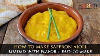 The Ultimate Saffron And Garlic Aioli Recipe