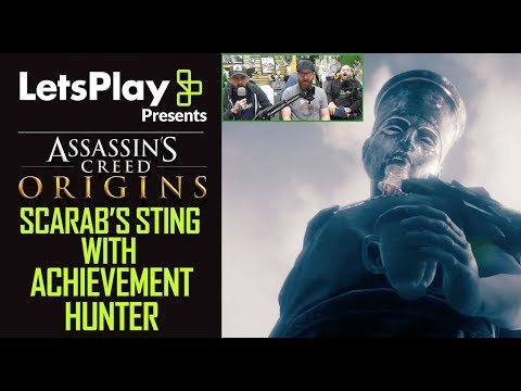Assassin's Creed Origins: The Scarab's Sting With Achievement Hunter | Let's Play Presents | Ubisoft