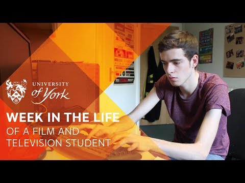 A week in the life of a Film and Television student
