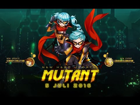 Lost Saga Ina New Rare Hero Mutant Youtube