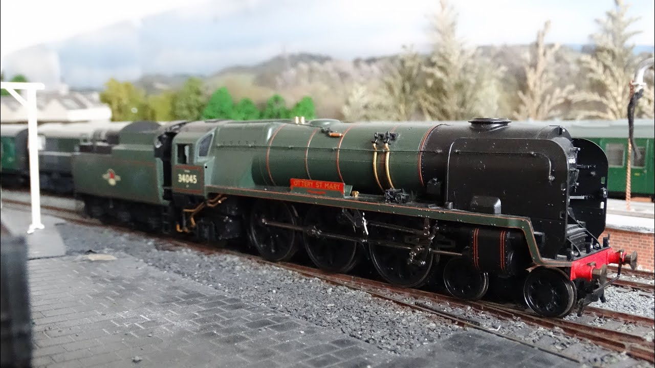 The 3 Cylinder Beat Dcc Sound Fitted Bulleid Rebuilt