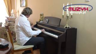 Kawai CA 95 demo profesjonalne cyfrowe pianino test Kawai CA-95 na www E MUZYK pl