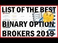 List of the 8 best Binary Options Brokers 2019 - Trading Review