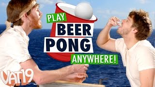 Play Beer Pong Anywhere!