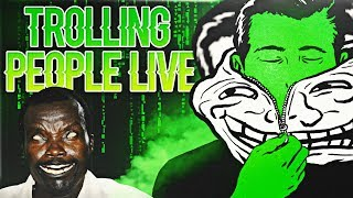Voice Trolling Your Friends Live As The African Rebel Prank - Ep1