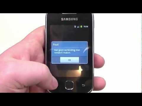 Dutch: Samsung Galaxy Y review