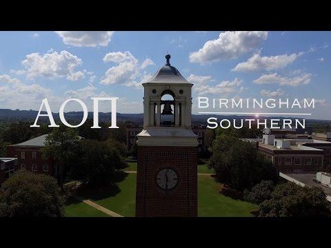 Birmingham Southern A O PI Rush