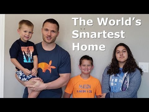 World's Smartest Home - Jarvis, featuring Home Blockchain &