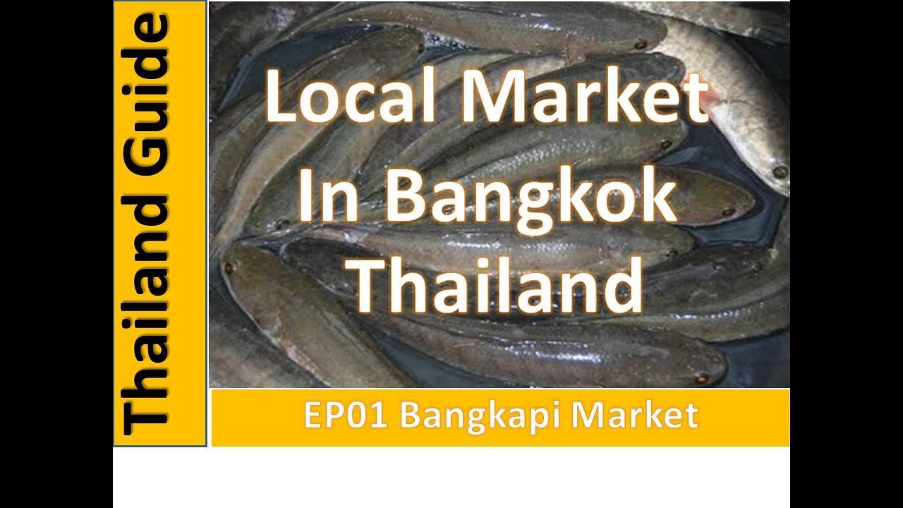 Thailand Guide,Bangkapi Local Market in Bangkok Thailand