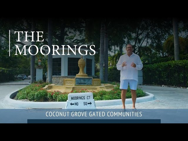 The Moorings Gated Community In Coconut Grove
