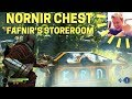 God of War: Nornir Chest heading to Fafnir's Storeroom (Midgard)