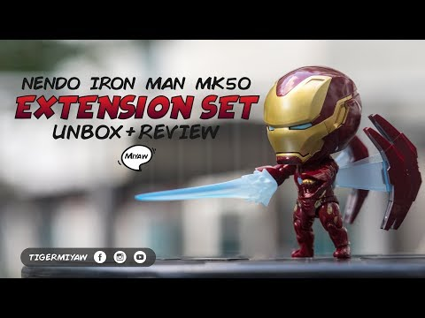 Nendoroid Iron Man MK50 - More Weapons & Accessories