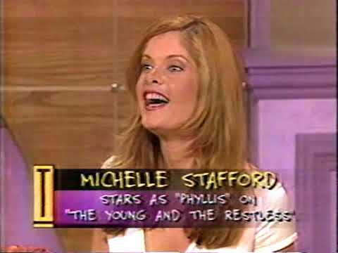 May 1996  Soap Opera Star Michelle Stafford Visits 'Tempestt'