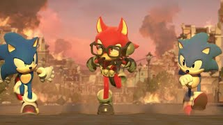 7 Minutes of Sonic Forces Gameplay - E3 2017